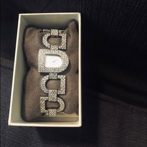 DKNY Women's Faux Diamond Watch
